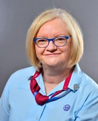 Sue Lomas - O.B.E - Services to Girl Guiding
