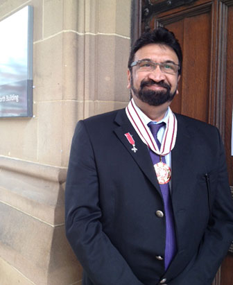 Dr Sayed Nayyer Abidi MBE - Services to the Black and Minority Ethnic Community in Greater Manchester